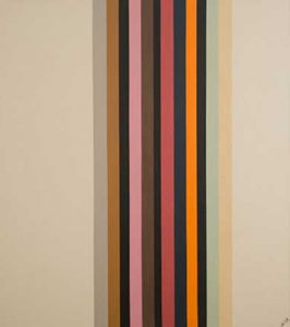 David Goslin #106 39x44, 2008. Acrylic on canvas