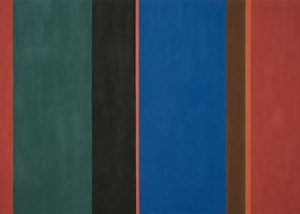 David Goslin #87 56x40, 1985. Acrylic on canvas