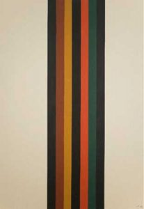 David Goslin #92 31x45, 1986. Acrylic on canvas