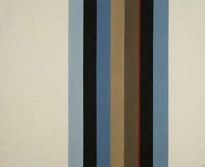 David Goslin #98 49x40, 1988. Acrylic on canvas