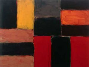 Raval Rojo by Sean Scully